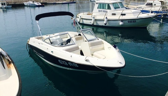 17' Bowrider Rental And Tours In Rab, Croatia