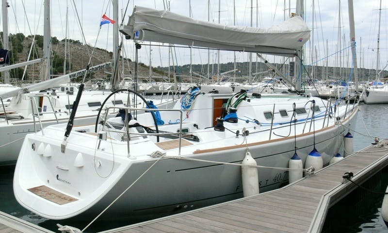 Sailing First 40.7 Yacht Charter In Adriatic