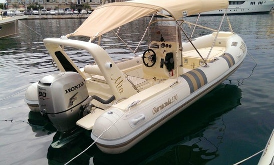 Rent Barracuda 530 Powerboat In Zagreb
