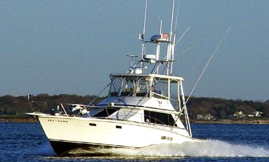 36ft Sportfisherman Boat Charter In Warwick, Rhode Island