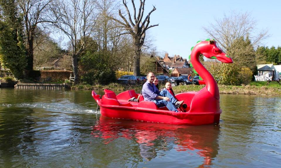 Paddle Boat for Hire in River Leam