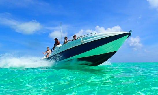 Private Jet Boat Tour On Bora Bora Lagoon