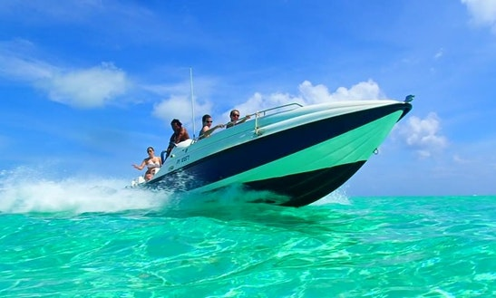 Private Jet Boat Tour On Bora Bora Lagoon