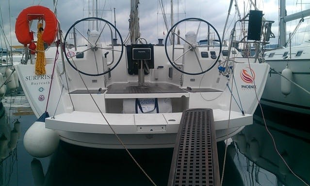 2013 'Surprise' Dufour 450 GL Sailboat Charter in Marmaris, Turkey