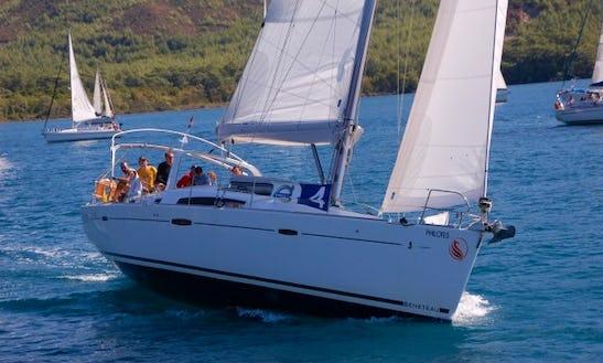 Sailboat 'luna' Beneteau Oceanis 50 Charter In Marmaris
