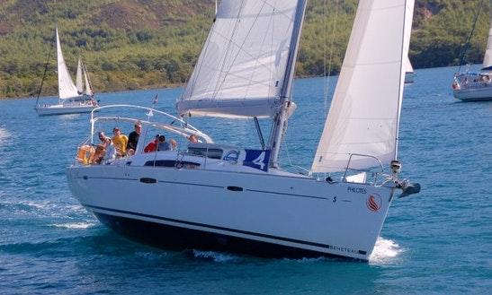 'luna' Beneteau Oceanis 50 Charter In Marmaris