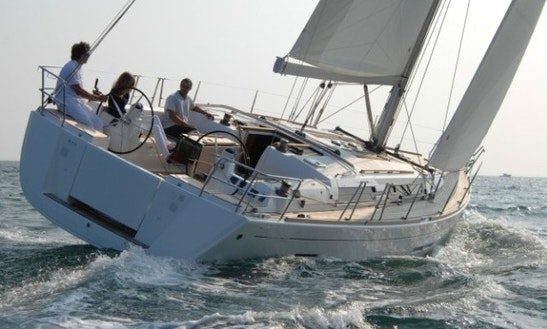 Charter A 10 Person 'perse' Dufour 450 Gl Sailboat In Fethiye, Turkey