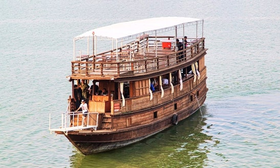 Passenger Boat In Cambodia