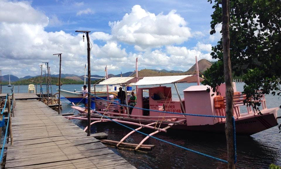 Private Diving Trips for 5 Person Aboard a Traditional Filipino Boat in Coron, Palawan!
