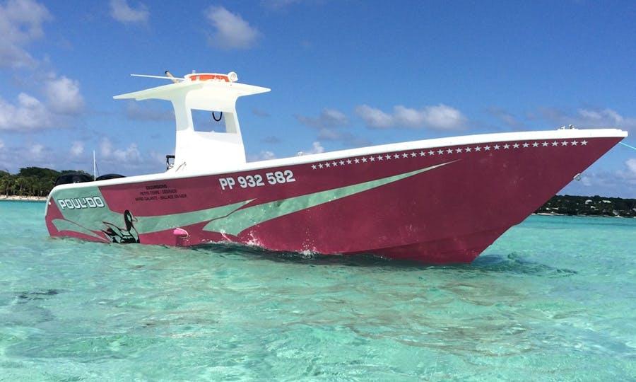 Motor Yacht Charter in Saint-François