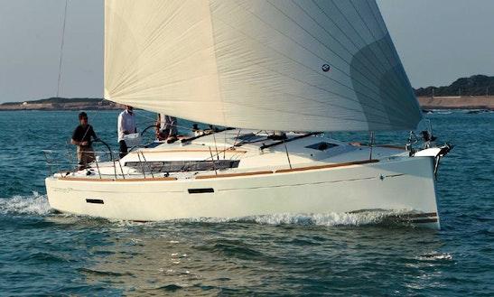 'maria Paia' Sun Odyssey 379 Charter In Velas
