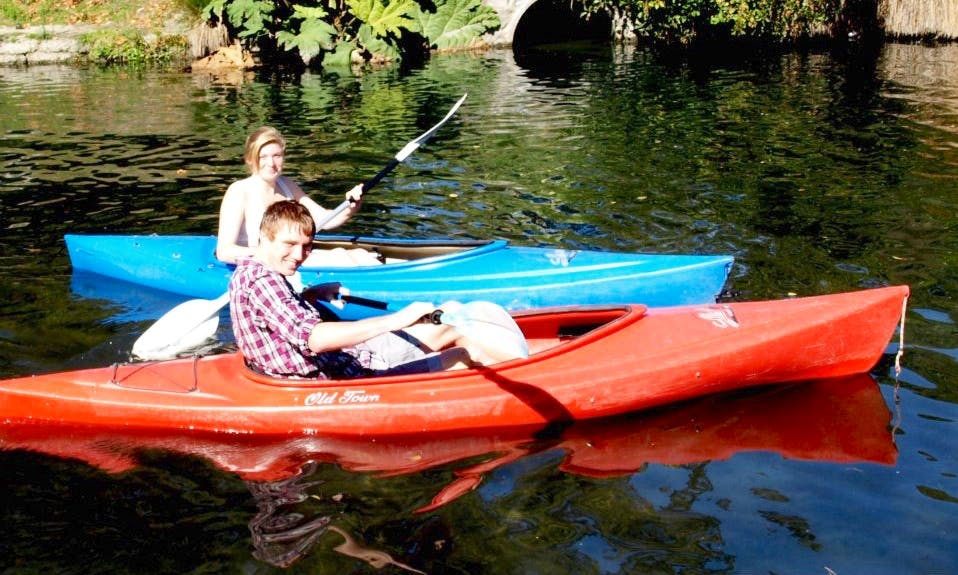 Single Kayak for Hire in Christchurch