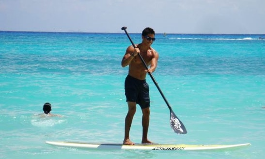 Sup Lesson And Rental In Playa Del Carmen