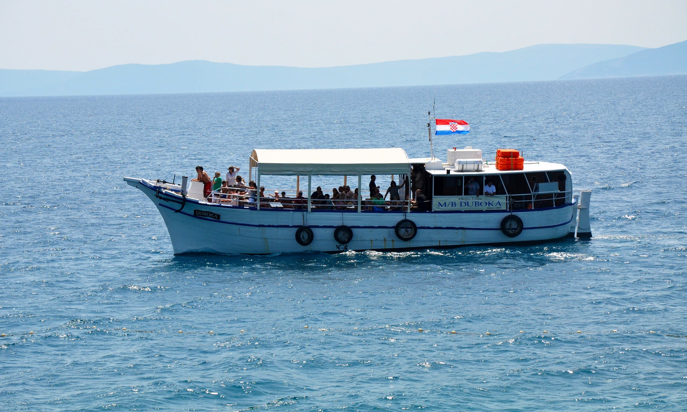 Boat Excursion In Rabac