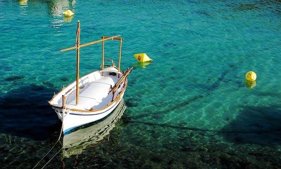 13' Llaut Boat Charter In Cadaqués