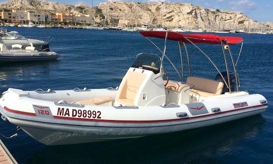 Marsea Cm120 Rib Charter In Cadaqués