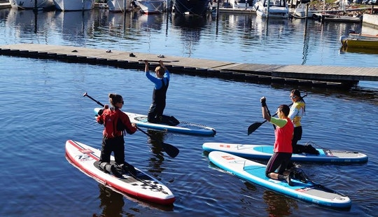 Stand Up Paddle Lesson In Oslo