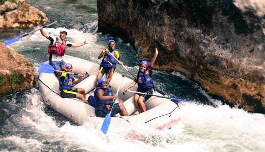 River Rafting In Omiš
