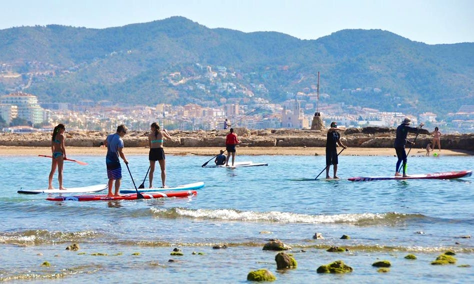 SUP Excursions In Sitges