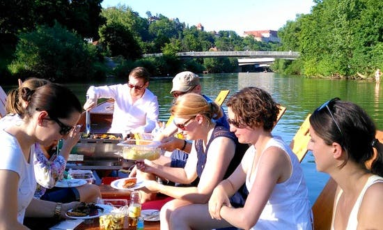 Traditional Punting Boat Tours in Tübingen