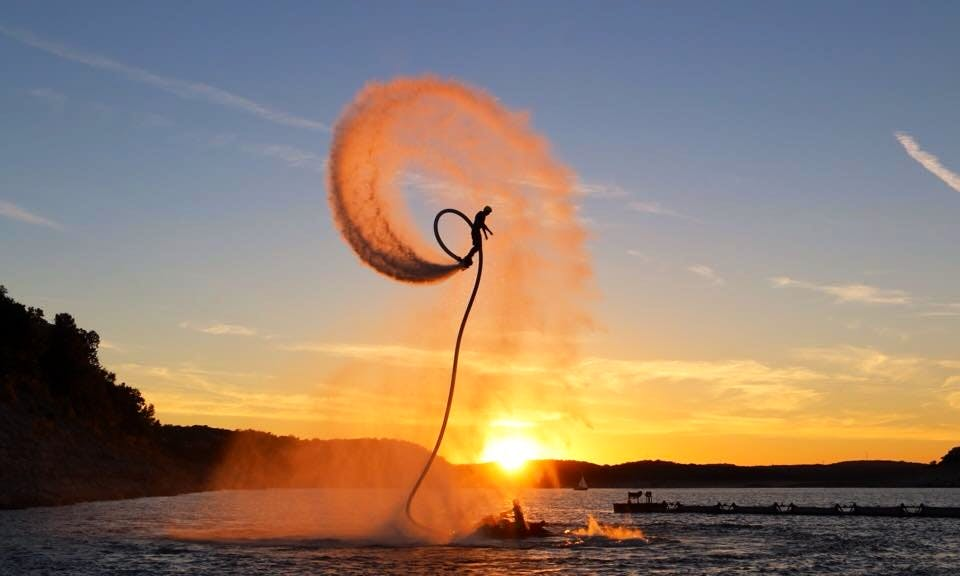 Flyboarding Lessons in Osoyoos BC, Canada