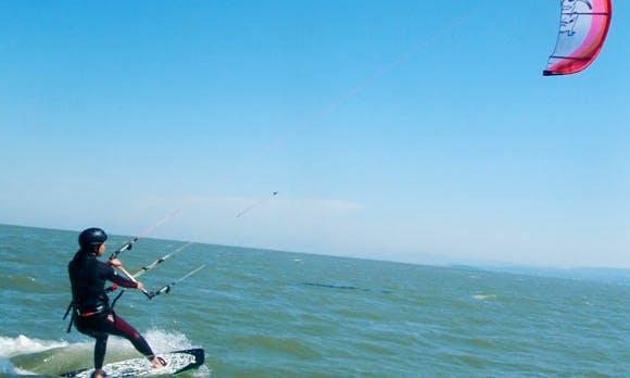 Kiteboarding In San Francisco