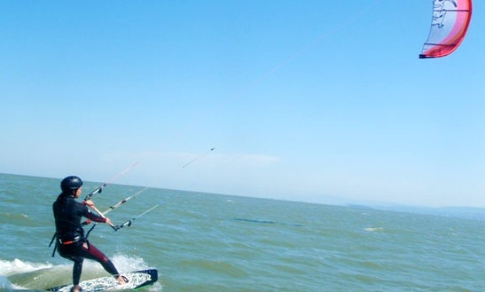 Kiteboarding In San Francisco