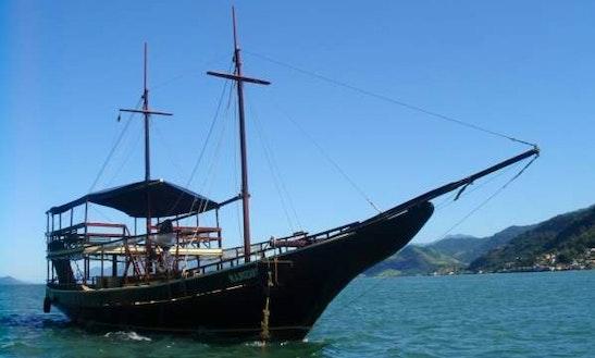 80' Schooner Charter For 145 Pax In Rio De Janeiro, Brazil