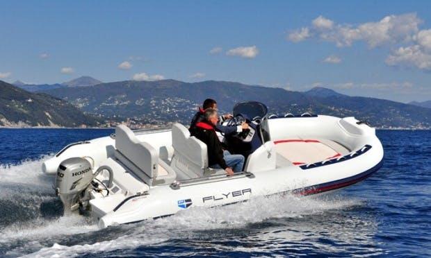 Rent Flyer 560 Pleasure Craft on Lake Zurich
