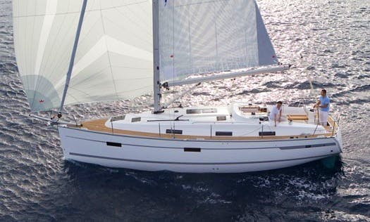 "The ""Baluma"" Bavaria 36 Yacht In Can Pastilla"