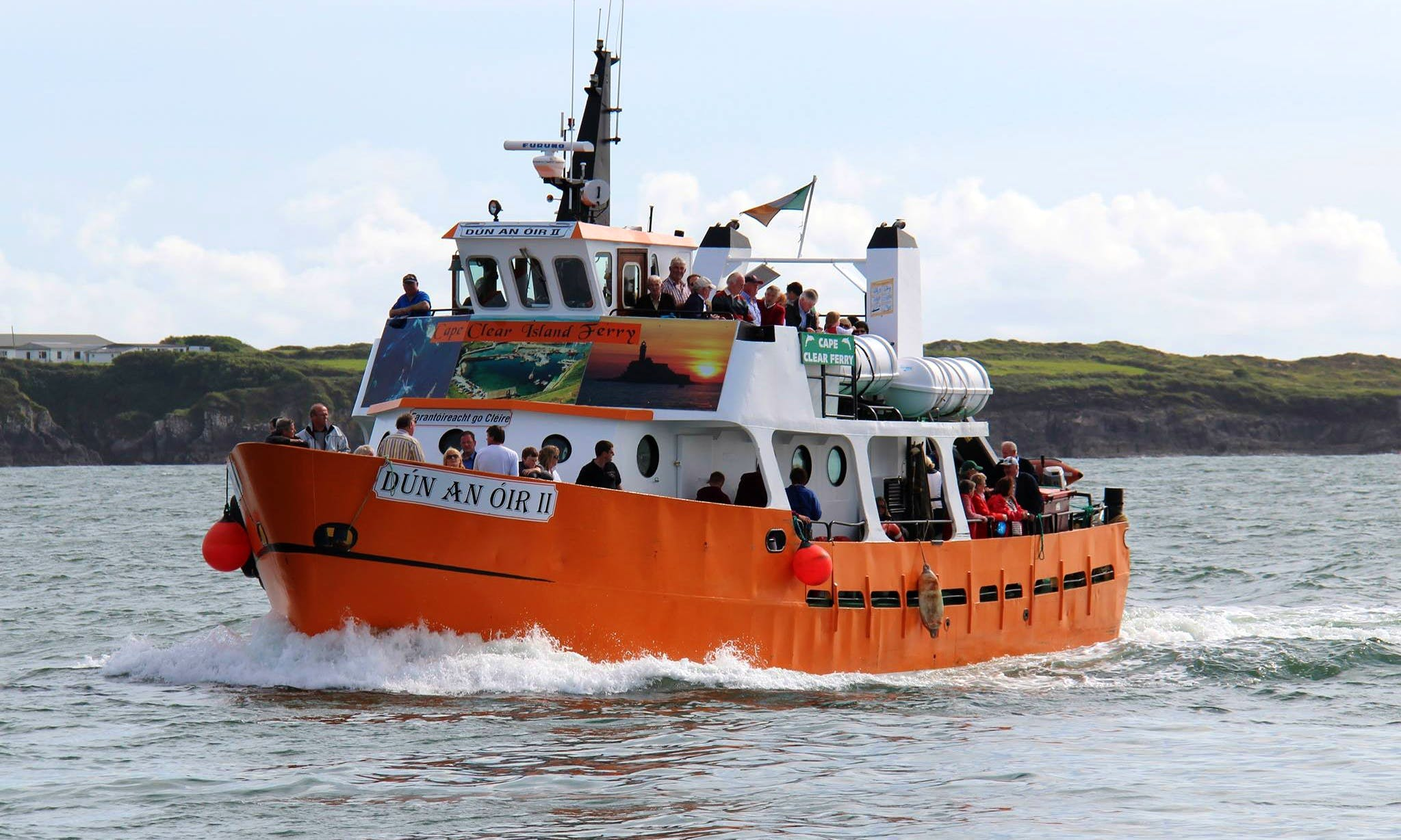 'Dún An Óir II' Ferry and Cruise Trips in Cork, Ireland