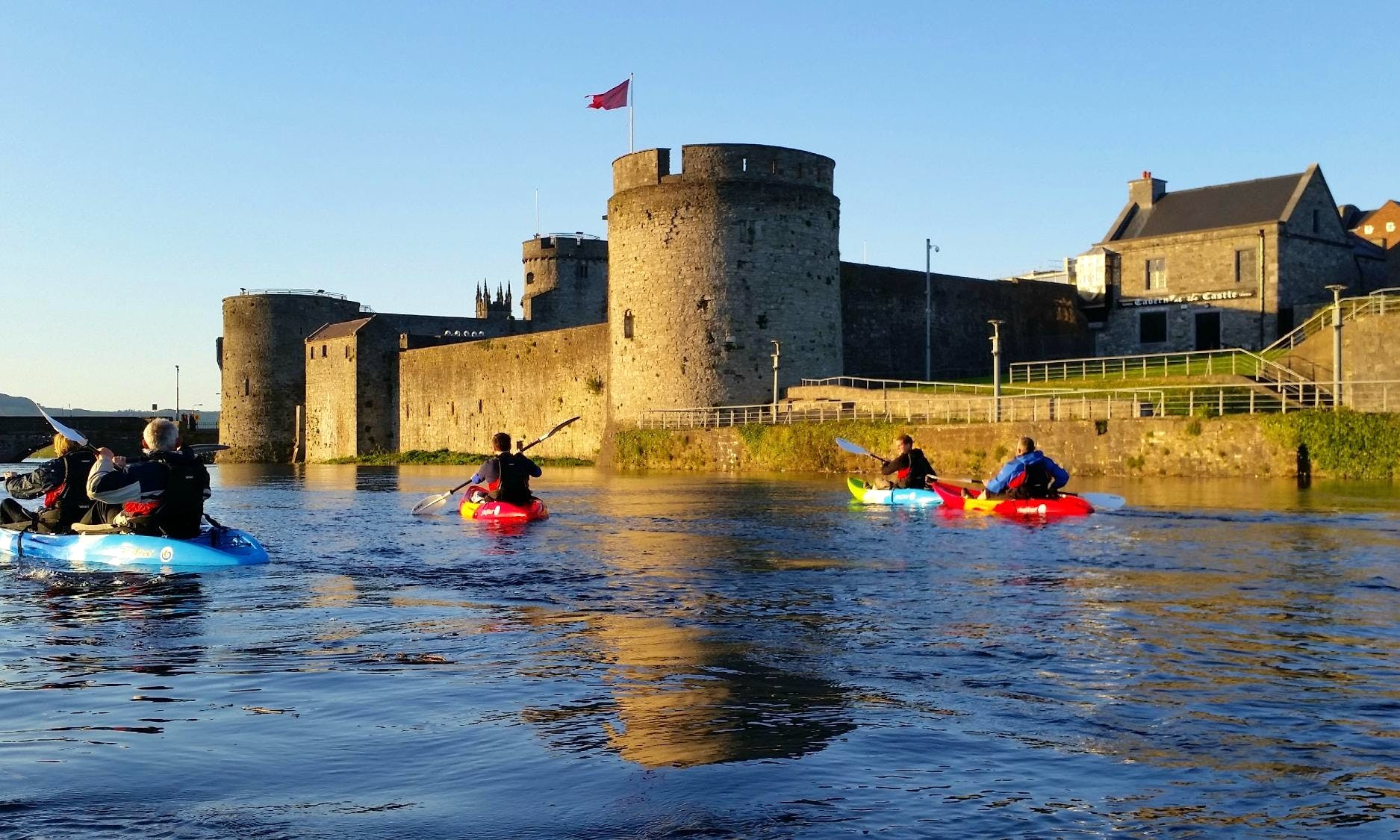 Kayak Rental, Lessons and Guided City Tours in Limerick, Ireland