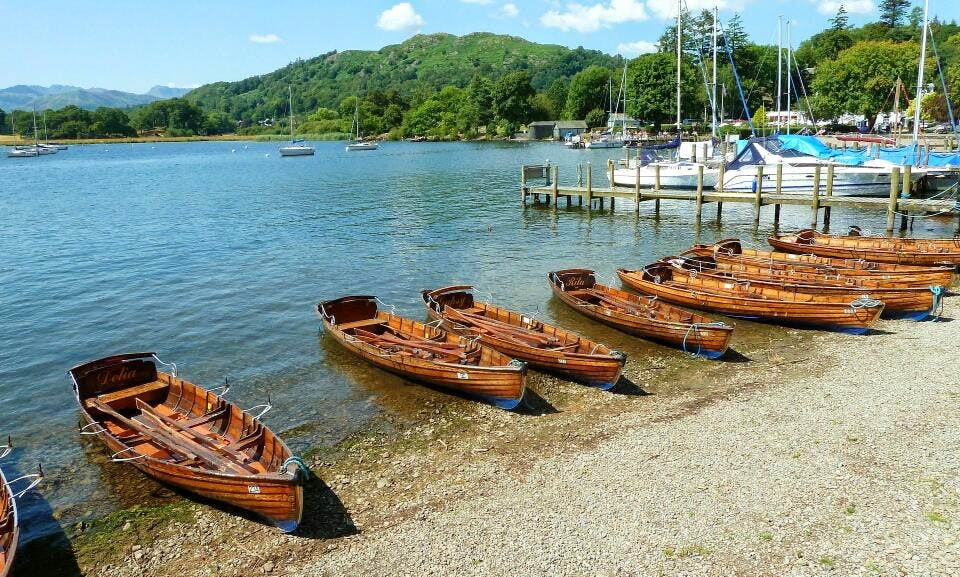 Row Boat Hire In Keswick