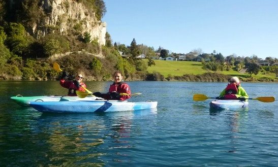 Kayak Guided Tours & Lessons In Taupo