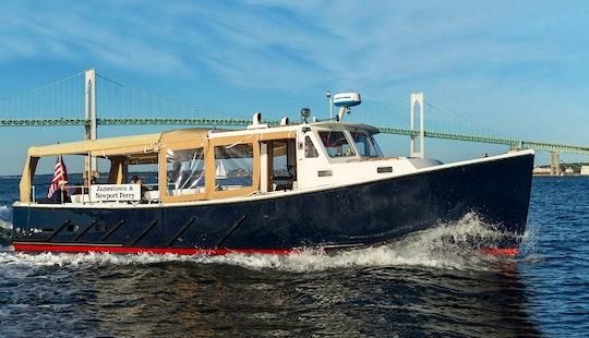 Charter 34ft 'jamestown' Passenger Boat In Jamestown, Rhode Island