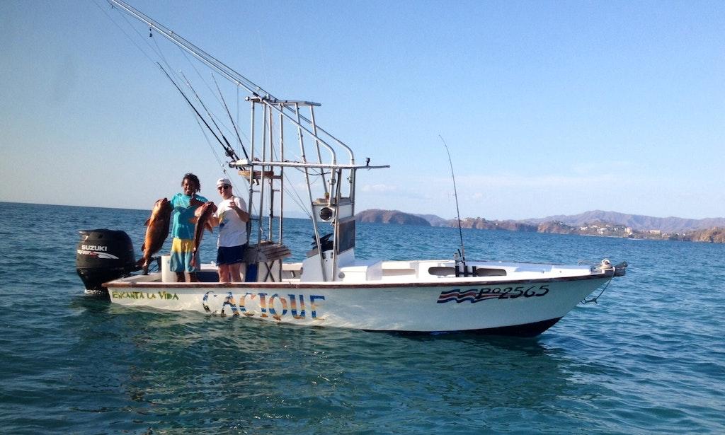 39 cacique 39 fishing charter in tamarindo costa rica getmyboat for Bimini fishing charters
