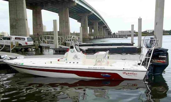 Enjoy Fishing In Port Orange, Florida On 22' Skeeter Tunnel Center Console