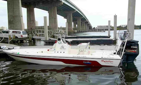 Enjoy Fishing In Port Orange, Florida On 22' Skeeter Tunnel Center Console