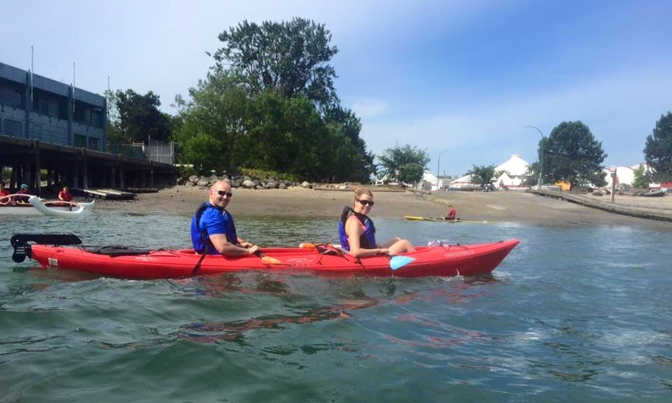 Double-Kayak Rental, Tours & Lessons in Vancouver