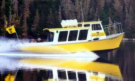 'toreta' Boat Water Taxi & Tours In Halibut Cove