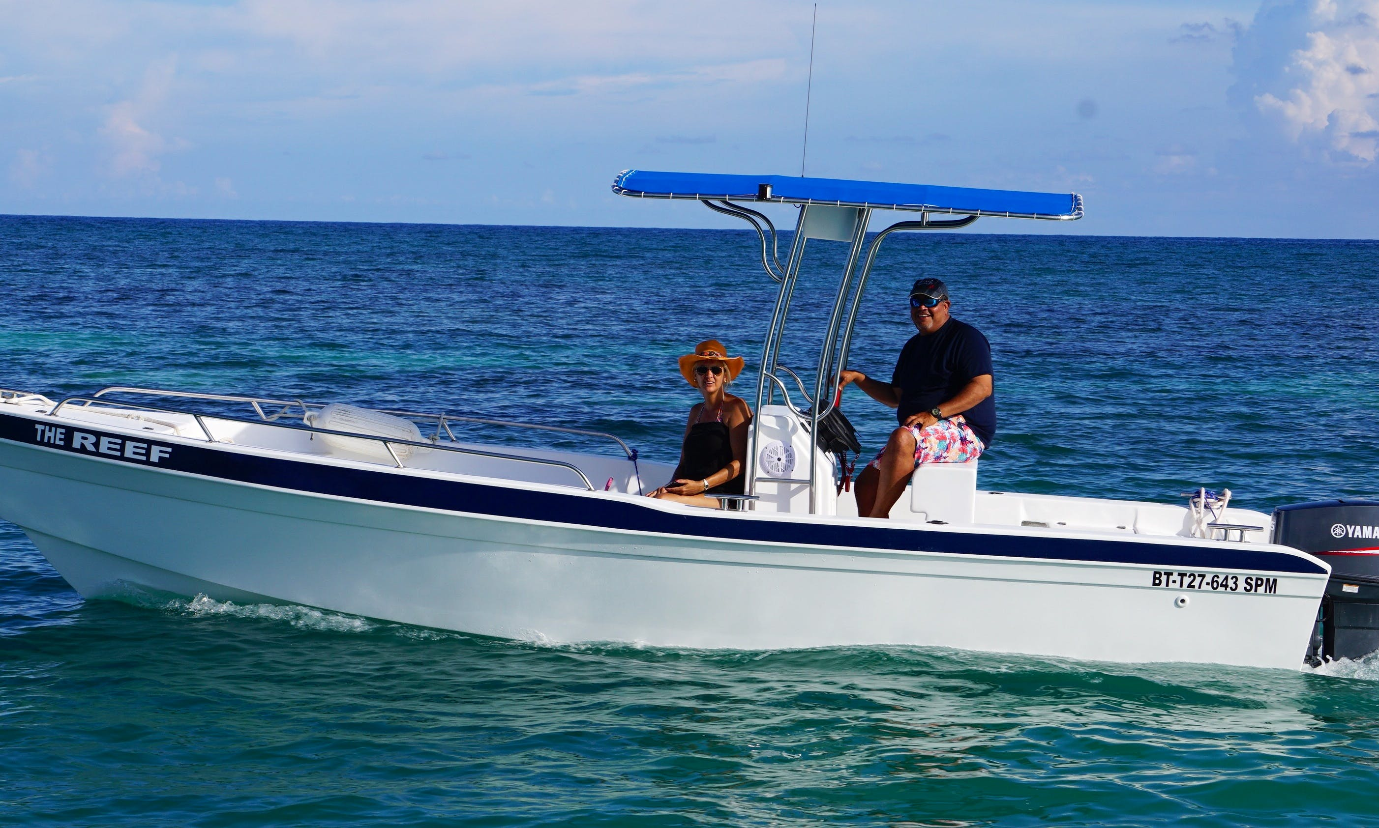 """Rent 23ft """"The Reef"""" Center Console Boat In Punta Cana, Dominican Republic"""