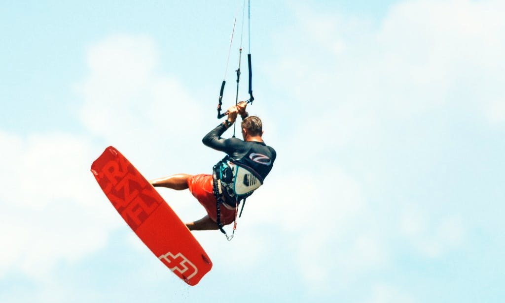 Kitesurfing Lesson in Kampot, Cambodia