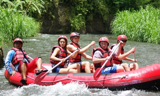 Water Rafting In Bali