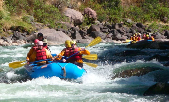 Whitewater River Rafting Trips in Cusco