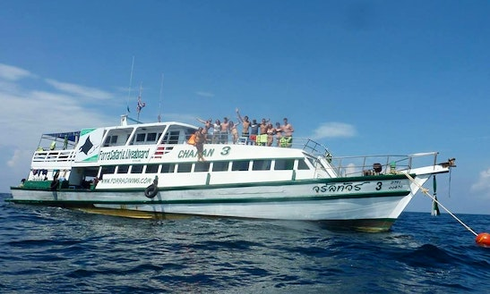 Liveaboard 3 Diving Charters In Thailand