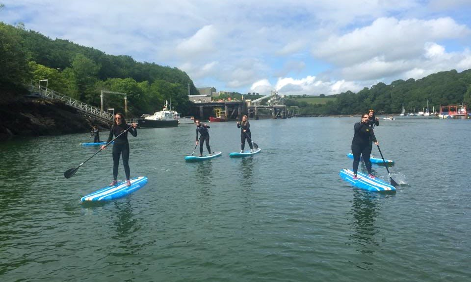 Stand Up Paddle Boarding In Newquay