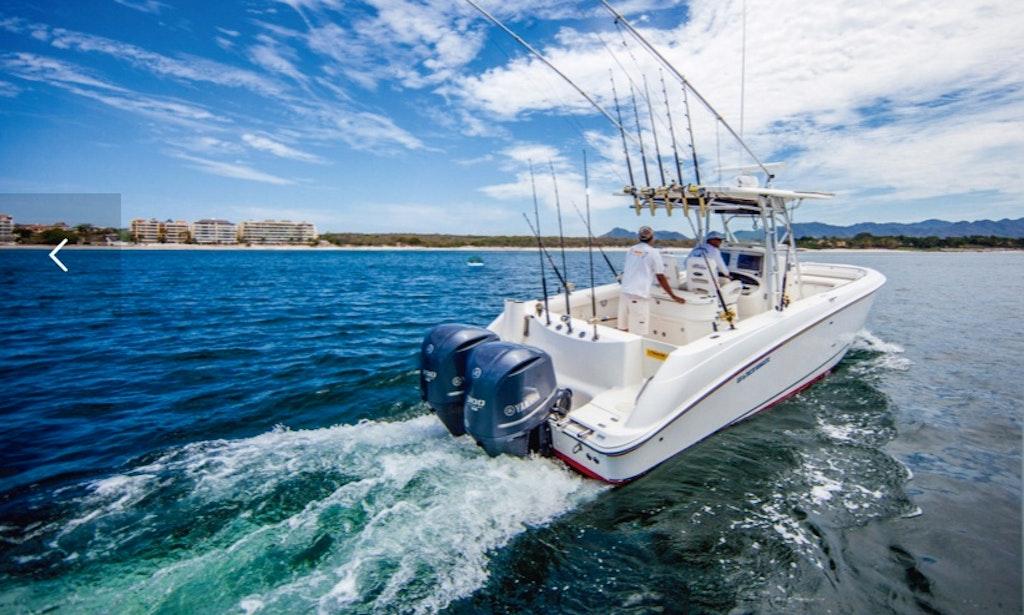32ft kokomo boston whaler boat fishing charter in punta for Delaware fishing charters