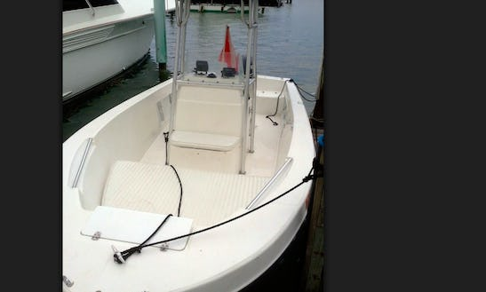 Rent 20' Angler Center Console In Islamorada, Florida