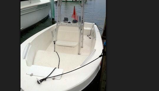 Rent 20' Angler Center Console In Islamorada, Florida