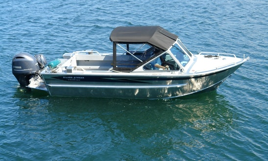 24ft Bass Boat Charter In Vancouver, British Columbia